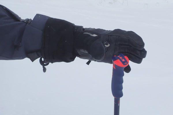 Leki skistokken met kliksysteem - makkelijk aan en uitttrekken