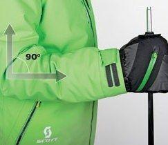 De ideale lengte van de skistokken