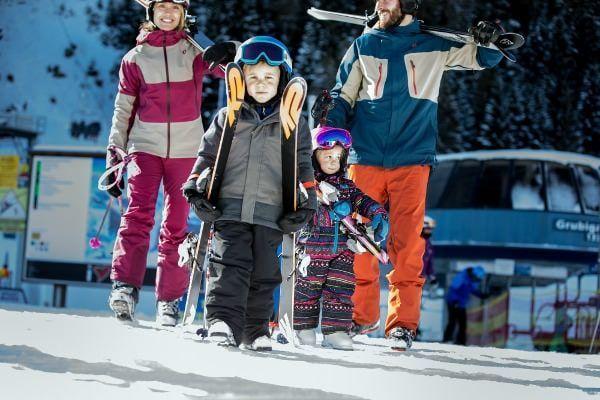 lermoos - wintersport met kinderen