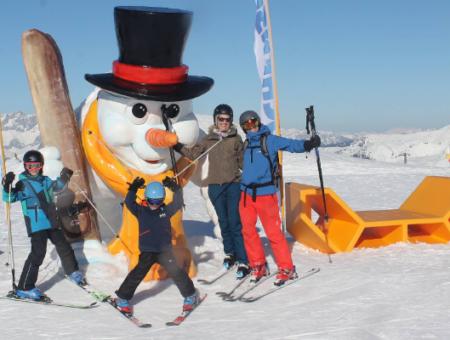 De mooiste fotopunten in Ski Amadé