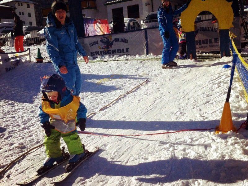 Skiles in Flachau
