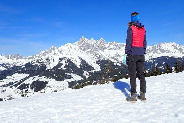 Maaike winterwandelen in Filzmoos