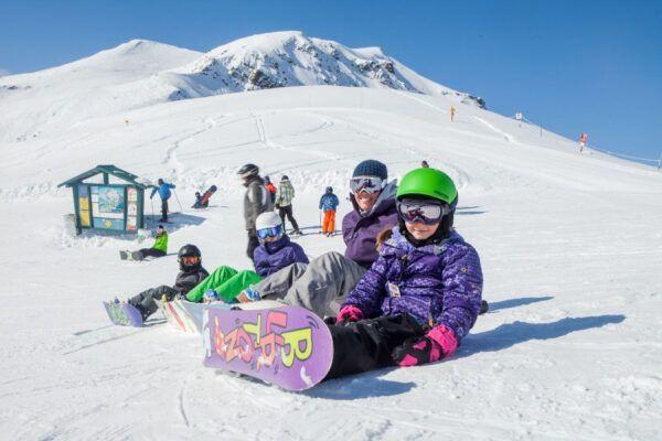 Winterdromen van de ultieme familie winterbelevenis in de Rockies