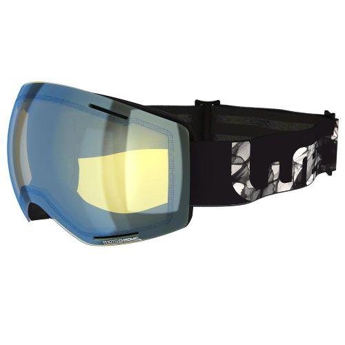 kinderskibril met meekleurende glazen