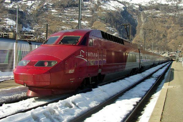 Met de trein naar Frankrijk