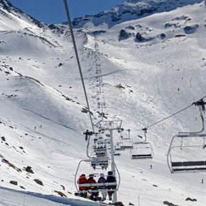 Ski lift Val Thorens