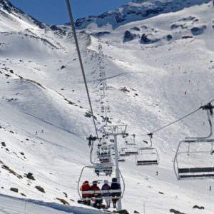 Ski lift Val Thorens