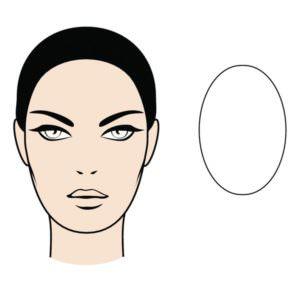 muts bij ovale gezichtvorm