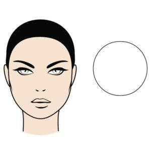 muts bij ronde gezichtsvorm