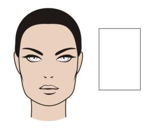 muts bij vierkante gezichtsvorm