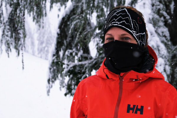 Een buff of nekwarmer is onmisbaar voor de wintersport