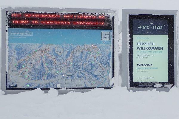 Niet alle liften zijn open in Flachau en Wagrain