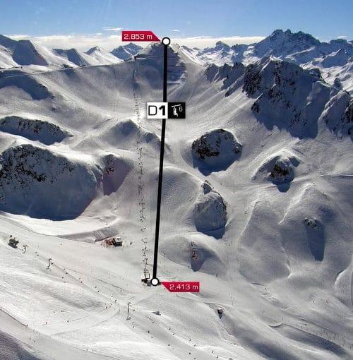 Nieuwe lift Ischgl