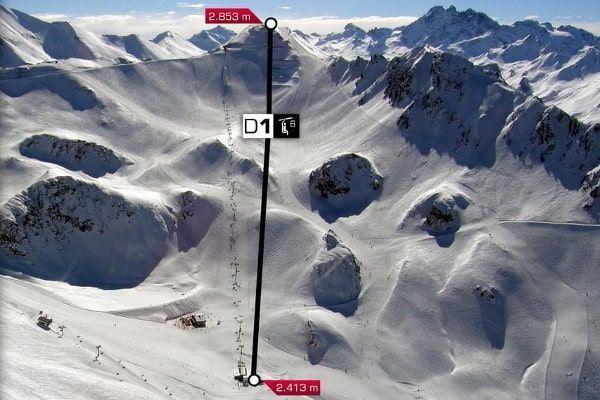 Nieuwe lift in Ischgl