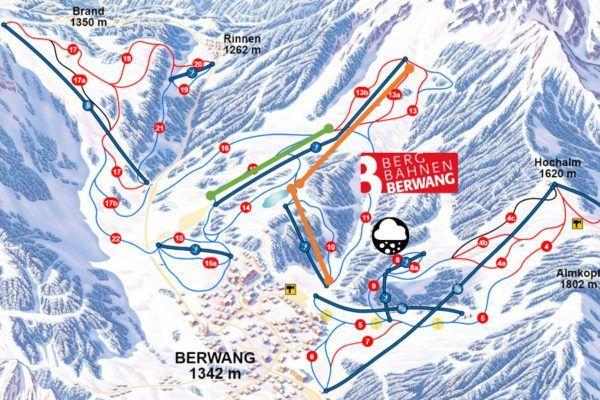 Nieuwe liften in skigebied Berwang