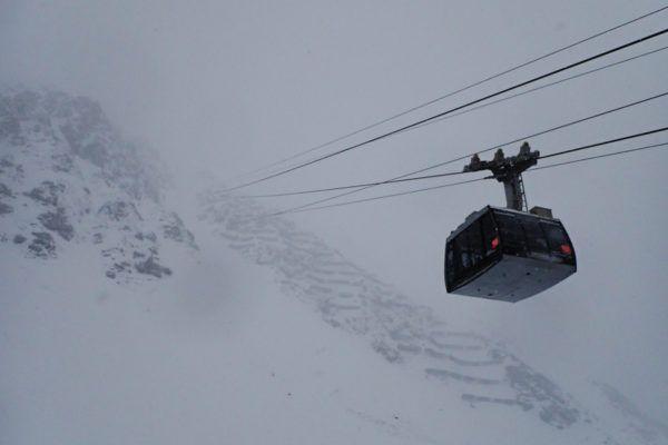 sneeuwdump Innsbruck