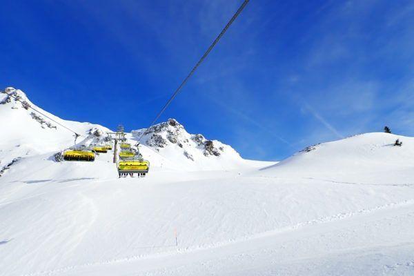 Wintersport april Oostenrijk