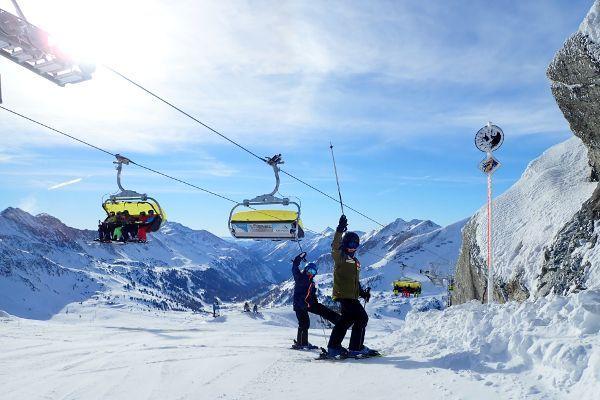 Obertauern: skigebied in de buurt van Salzburg.