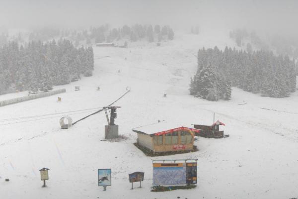 Sneeuw in Zell am Ziller