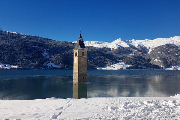 Onderweg naar Val Senales in Italie