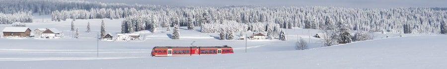 Frankrijk trein voor wintersport