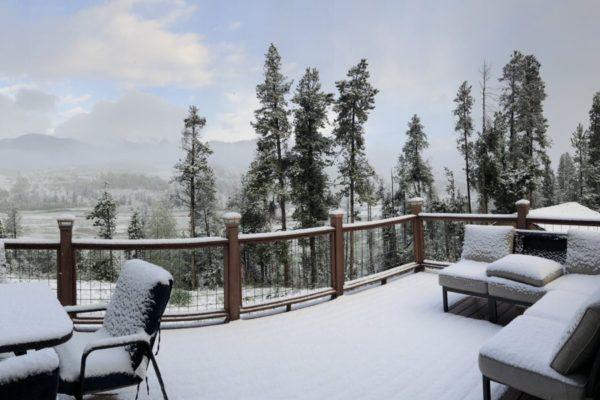 Pak sneeuw in Colorado