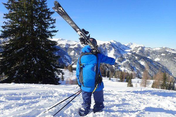 Pieps Lawine Airbag bij off piste skiën
