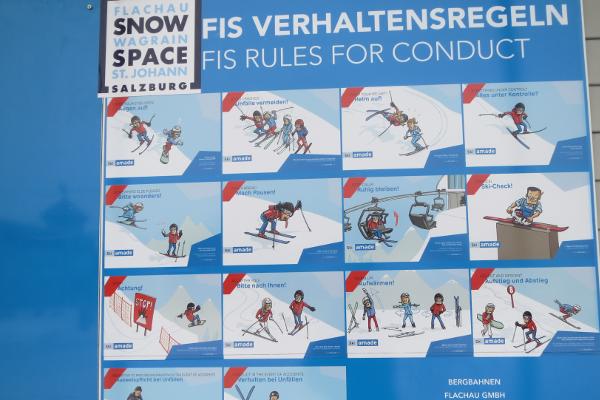 pisteregels ski amade