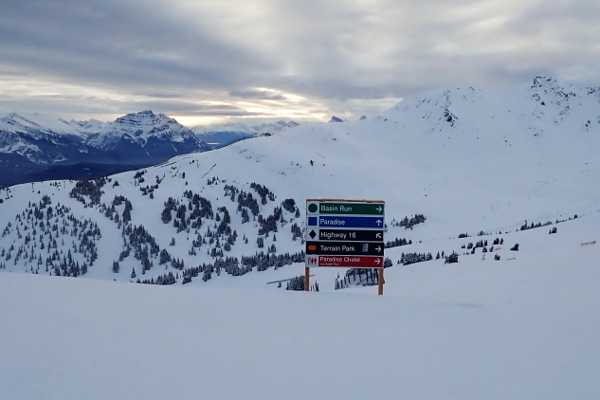skigebied Marmot Basin pistes