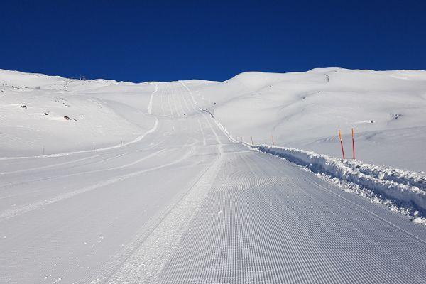 Lange en brede pistes van Val Senales
