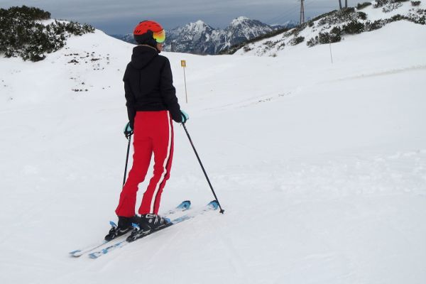 Protest skibroek Sanca op de piste getest