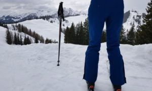 Thermobroek voor wintersporters