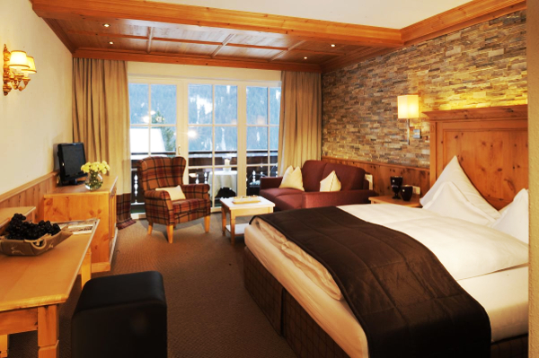 wintersport romantisch hotel in vorarlberg