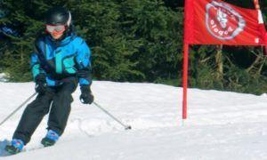 Rugbeschermer voor skiërs en snowboarders