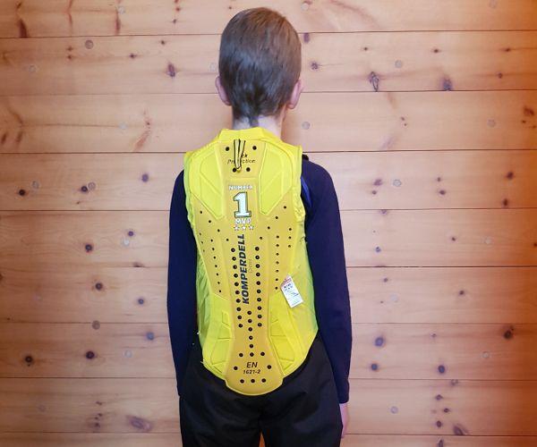 rugbescher ski voor kind van komperdell