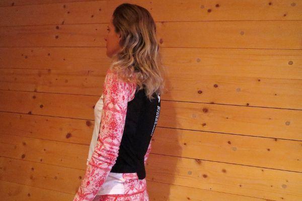 Rugbeschermer ski voor dames