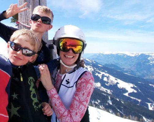 rugbeschermer ski