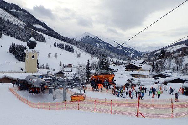 Saalbach - skigebied in de buurt van Salzburg