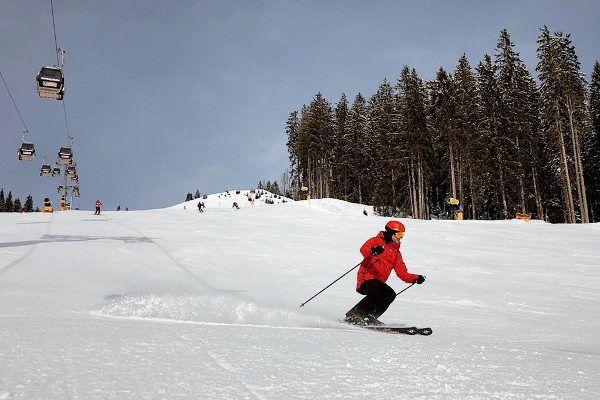 skiën in Saalbach