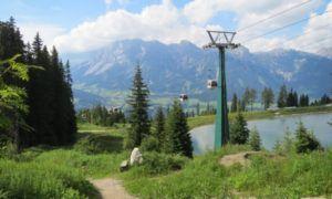 Welk skigebied is leuk in de zomer?