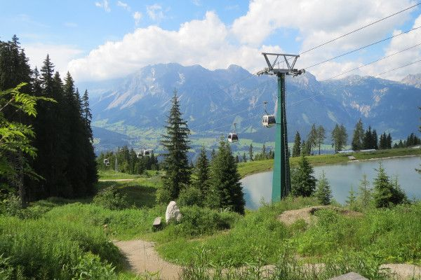 Welke skigebied in de zomer? Schladming!