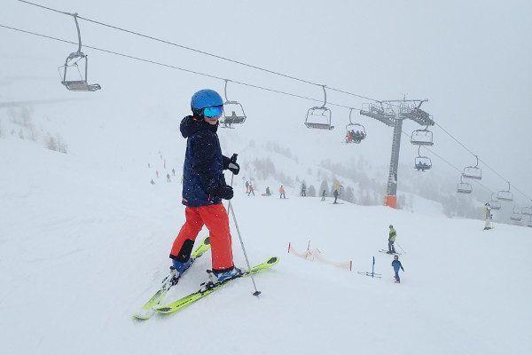 Schlick 2000 het sneeuwt