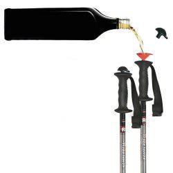skistokken - apres ski - skistok met drank - skistokken met schnapps