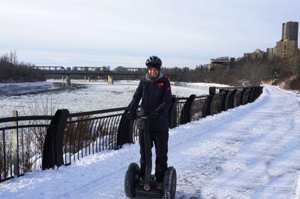 Segway Edmonton wintervakantie
