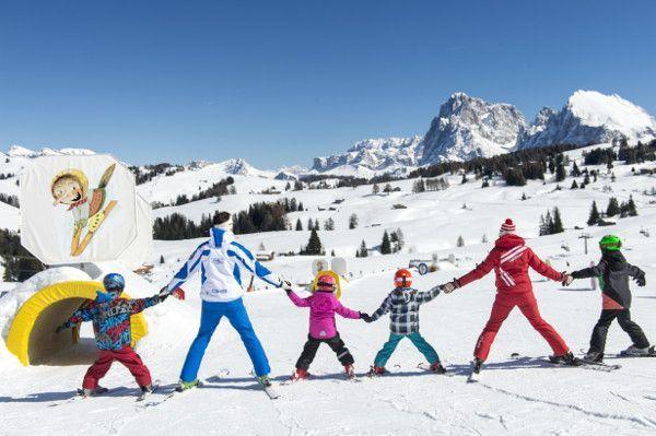 Seiser alm: kindvriendelijk skigebied Zuid Tirol