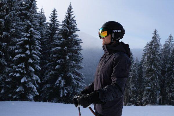 Review Sinner Silverton skihelm en skibril