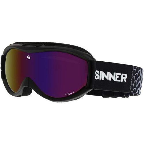sinner skibril voor kind zwart model