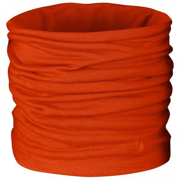 Oranje Sjaal voor wintersport