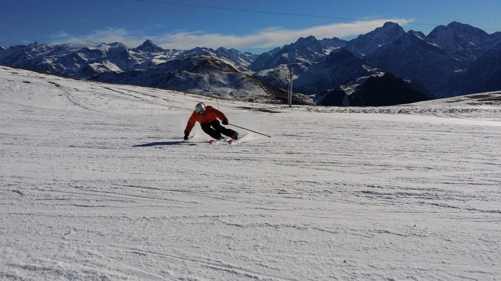 Wintersport december - alleen op de piste