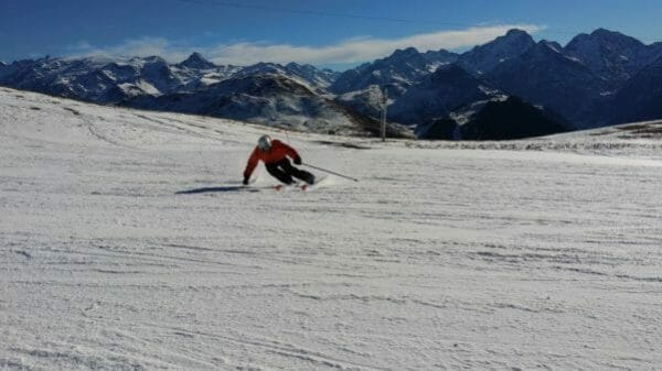 Wintersport december - alleen op de piste